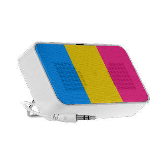 Proud Pansexual Speaker System