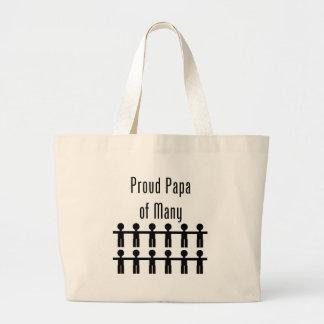 Proud Papa of Many -  12 kids Bag