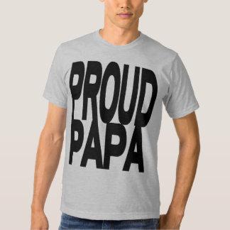 PROUD PAPA T-Shirt