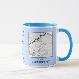 Proud Papaw New Baby Photo Mug