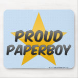 Proud Paperboy Mouse Pad