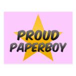 Proud Paperboy Postcard