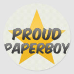 Proud Paperboy Stickers