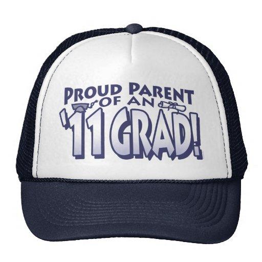 Proud Parent 2011 Grad Mesh Hats
