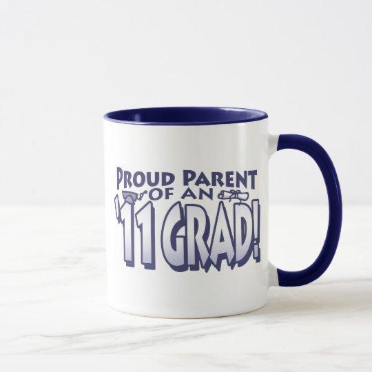 Proud Parent 2011 Grad Mug