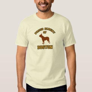 Proud Parent Boston Terrier T-shirt