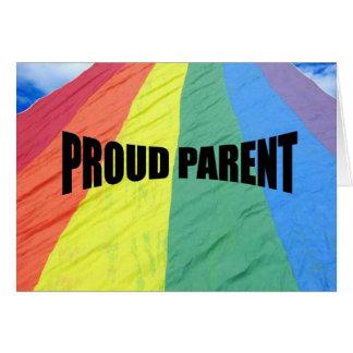 Proud Parent Greeting Card