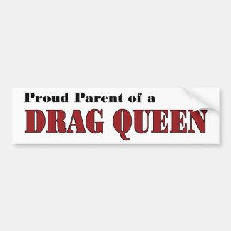 Proud Parent - Drag Queen Car Bumper Sticker