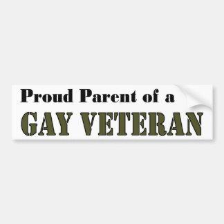 Proud Parent - Gay Vet Car Bumper Sticker