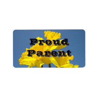 Proud Parent Label Sticker name tags Student Event Address Label