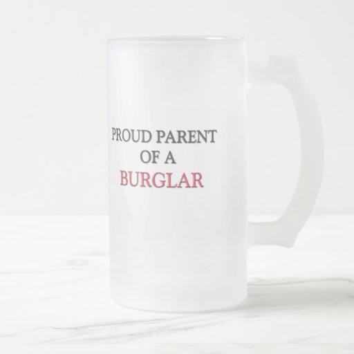 Proud Parent Of A BURGLAR Coffee Mugs