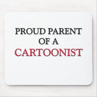 Proud Parent Of A CARTOONIST Mouse Pad