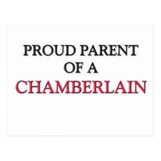 Proud Parent Of A CHAMBERLAIN Postcard