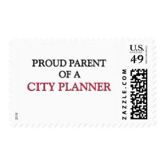 Proud Parent Of A CITY PLANNER Postage Stamps