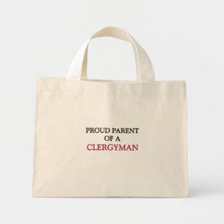 Proud Parent Of A CLERGYMAN Mini Tote Bag