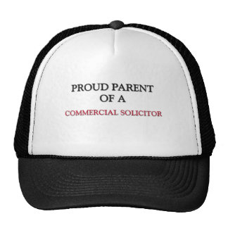 Proud Parent Of A COMMERCIAL SOLICITOR Trucker Hat