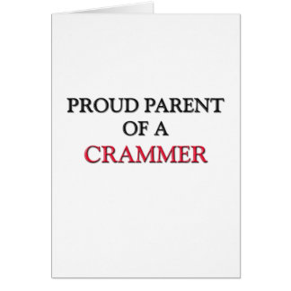 Proud Parent Of A CRAMMER Card