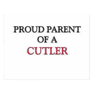 Proud Parent Of A CUTLER Postcard
