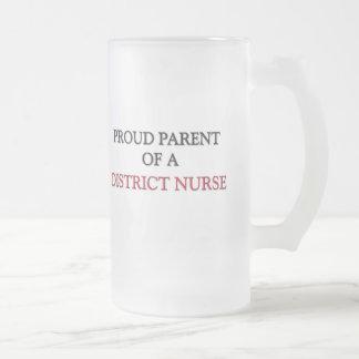 Proud Parent Of A DISTRICT NURSE Coffee Mugs