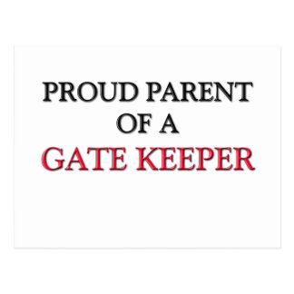 Proud Parent Of A GATE KEEPER Postcard