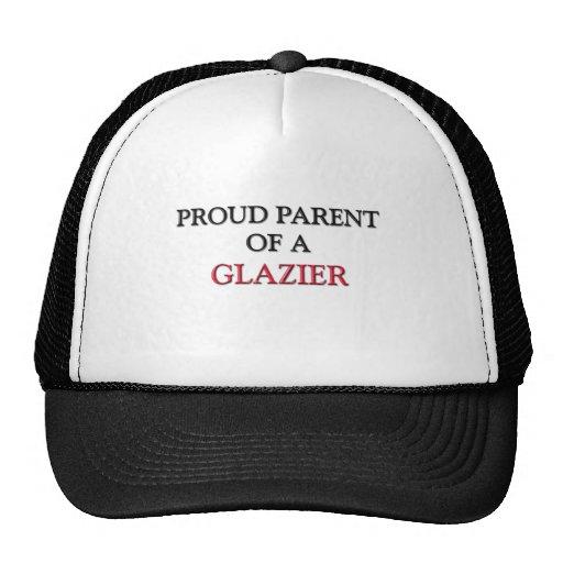 Proud Parent Of A GLAZIER Mesh Hats