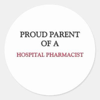 Proud Parent Of A HOSPITAL PHARMACIST Sticker