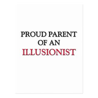 Proud Parent Of A ILLUSIONIST Postcards