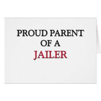 Proud Parent Of A JAILER Card