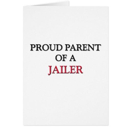 Proud Parent Of A JAILER Cards
