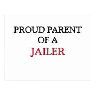 Proud Parent Of A JAILER Postcard