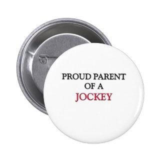 Proud Parent Of A JOCKEY Pin