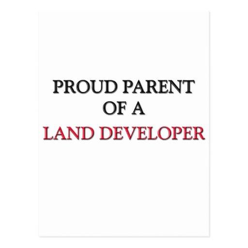Proud Parent Of A LAND DEVELOPER Postcard