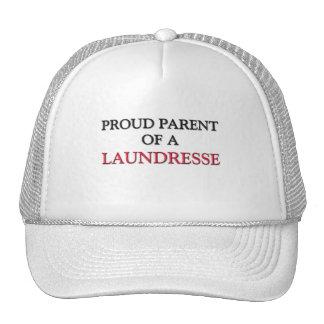 Proud Parent Of A LAUNDRESSE Hats