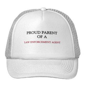 Proud Parent Of A LAW ENFORCEMENT AGENT Hats