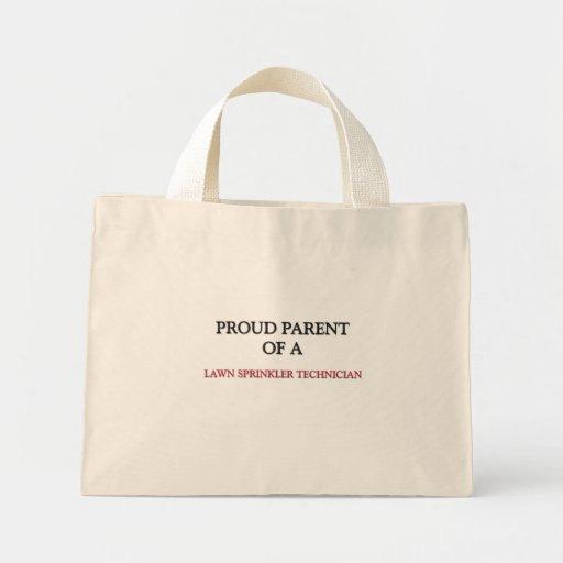 Proud Parent Of A LAWN SPRINKLER TECHNICIAN Tote Bag