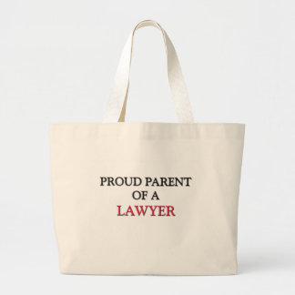 Proud Parent Of A LAWYER Large Tote Bag