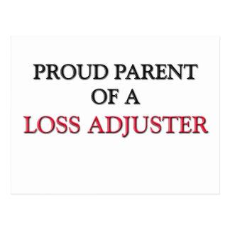 Proud Parent Of A LOSS ADJUSTER Postcards