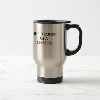 Proud Parent Of A MARINE Travel Mug