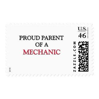 Proud Parent Of A MECHANIC Stamp