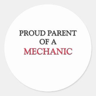 Proud Parent Of A MECHANIC Sticker