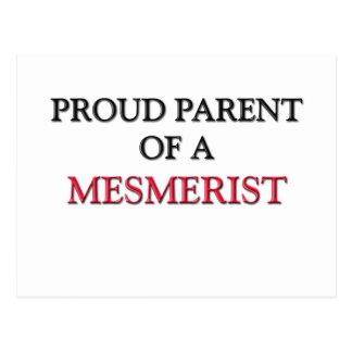 Proud Parent Of A MESMERIST Postcard