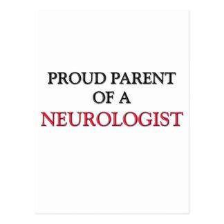 Proud Parent Of A NEUROLOGIST Postcards