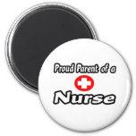 Proud Parent of a Nurse Fridge Magnets