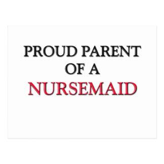 Proud Parent Of A NURSEMAID Post Card