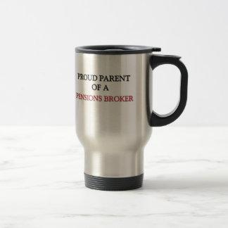 Proud Parent Of A PENSIONS BROKER Coffee Mug