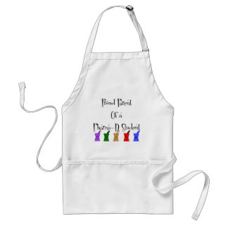 Proud Parent of a PharmD (pharmacy student) gifts Adult Apron