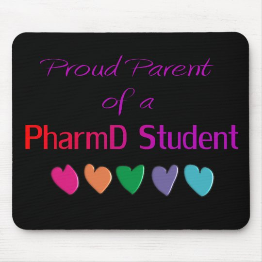 Proud Parent of a PharmD Student Mouse Pad