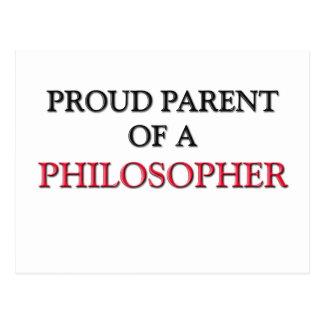 Proud Parent Of A PHILOSOPHER Postcard