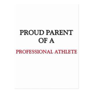 Proud Parent Of A PROFESSIONAL ATHLETE Postcard