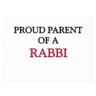 Proud Parent Of A RABBI Postcard